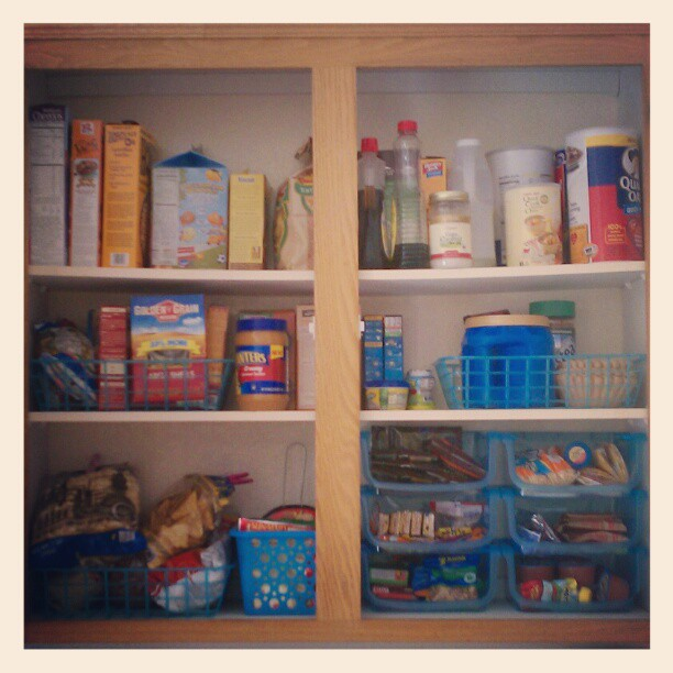 Pantry Organziation