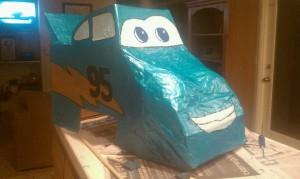 DIY Race Car Costume