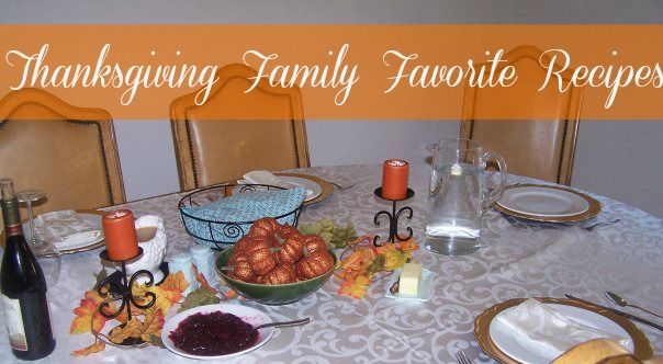 Holiday Dinner Family Favorite Recipes