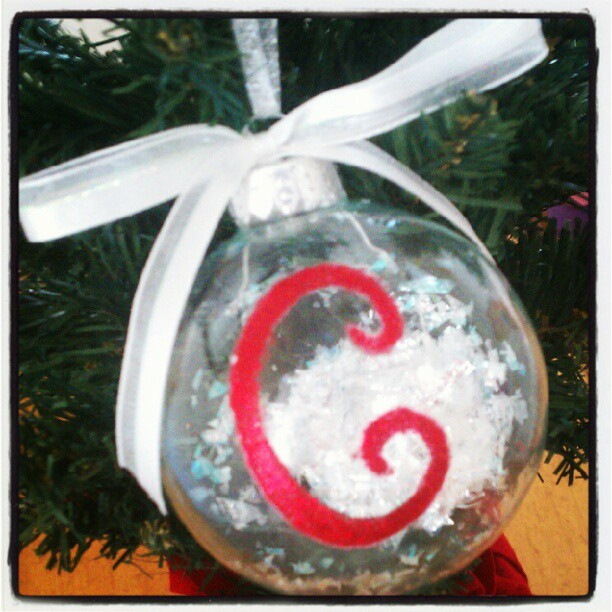 DIY:  Personalized Christmas Ornaments