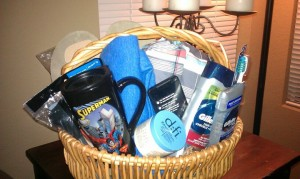 Deployment Idea:  Put Together a Welcome Home Basket