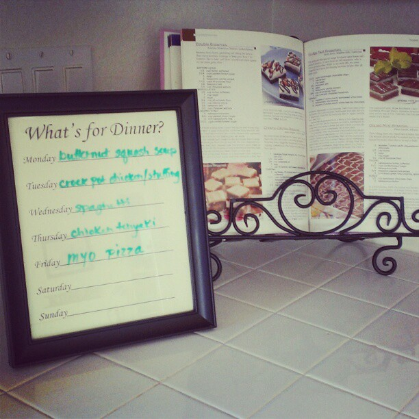 DIY Menu Board with Printable