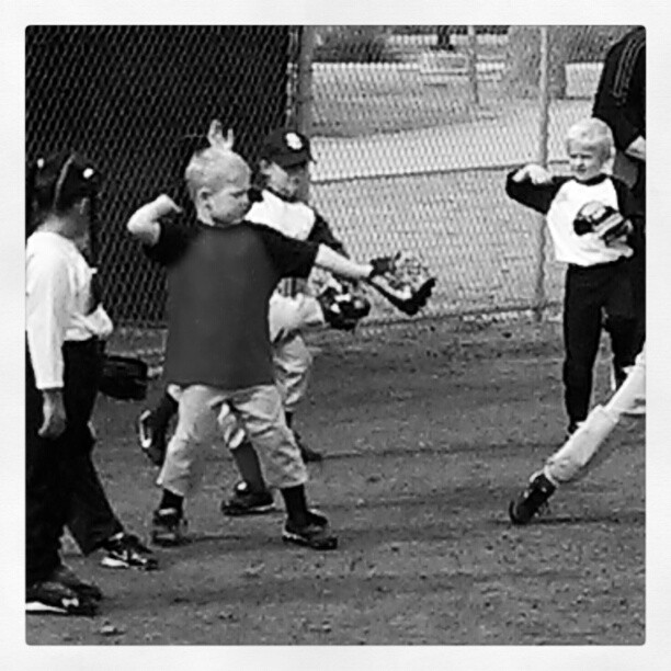 Spring Baseball 2013~Bubba's First Practice