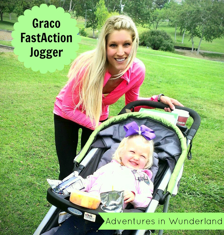Graco FastAction Jogger~The Perfect Stroller for the Active Mom!