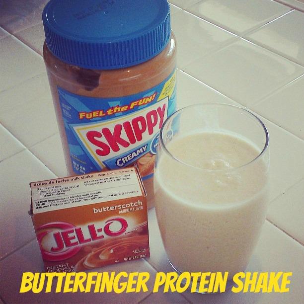 Butterfinger Protein Shake