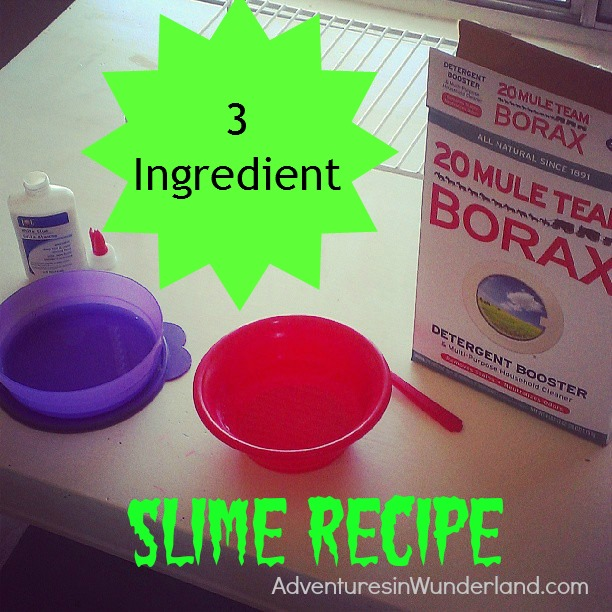 Three Ingredient Slime Recipe
