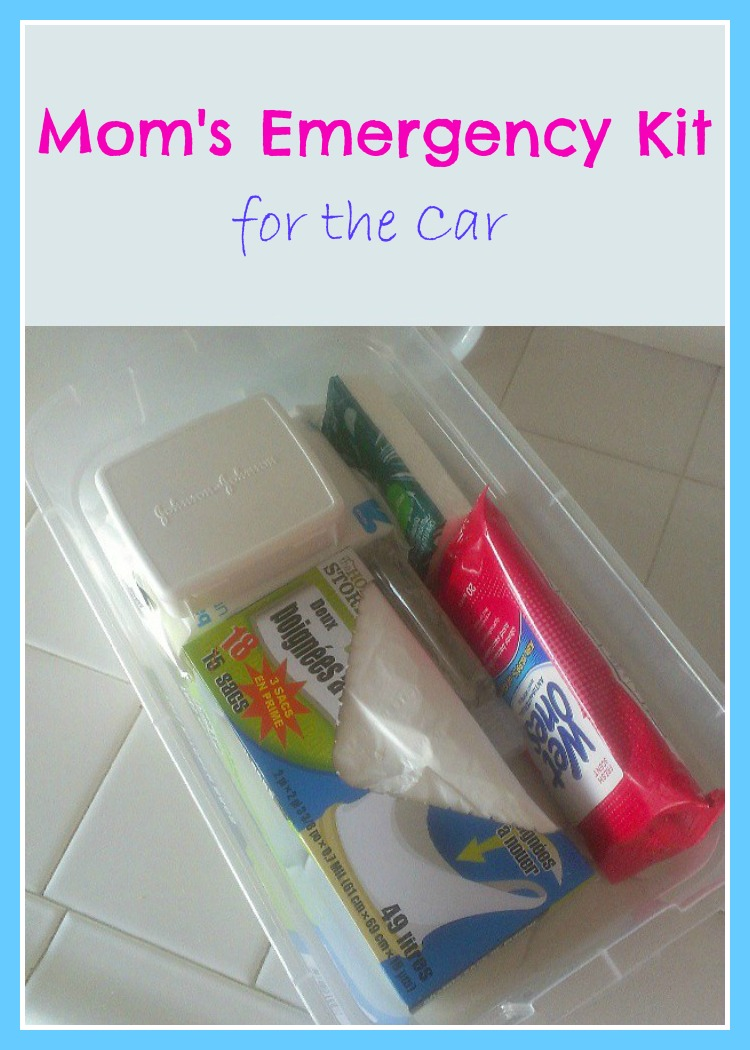 Mom's Emergency Kit for the Car