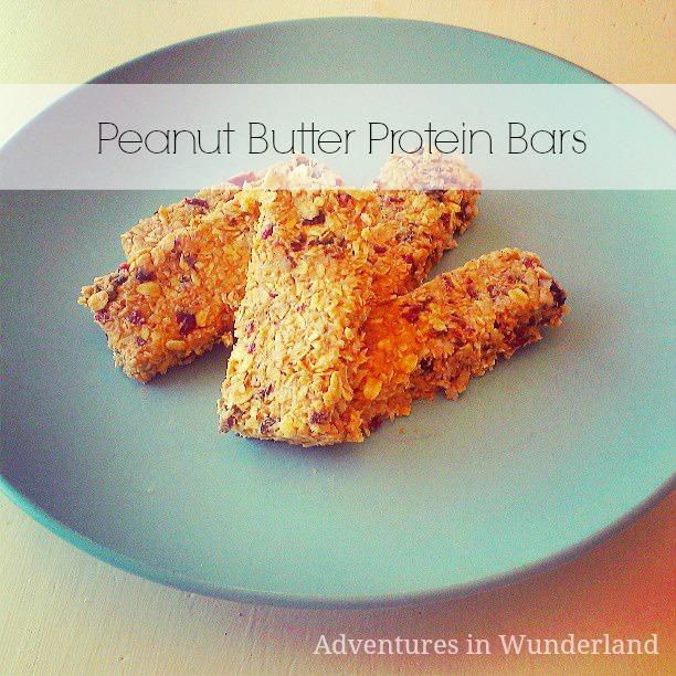 peanutbutterproteinbars
