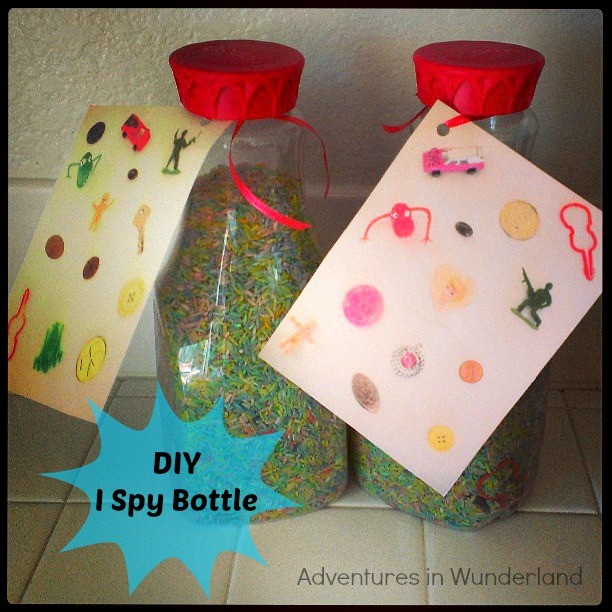DIY: I Spy Bottles