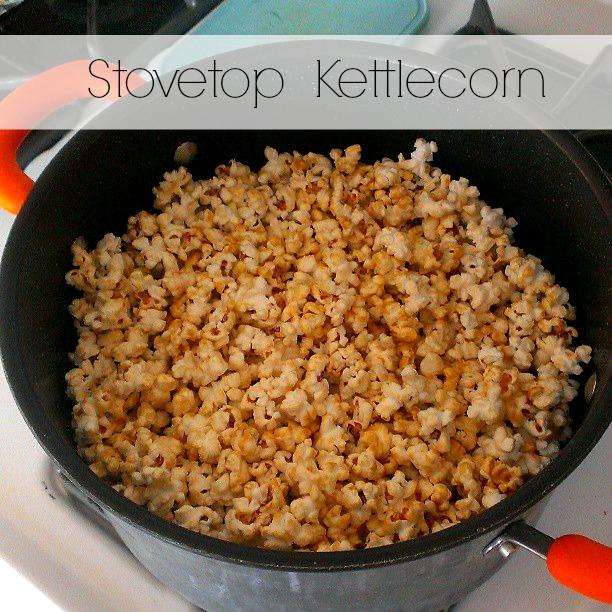 Stovetop Kettlecorn