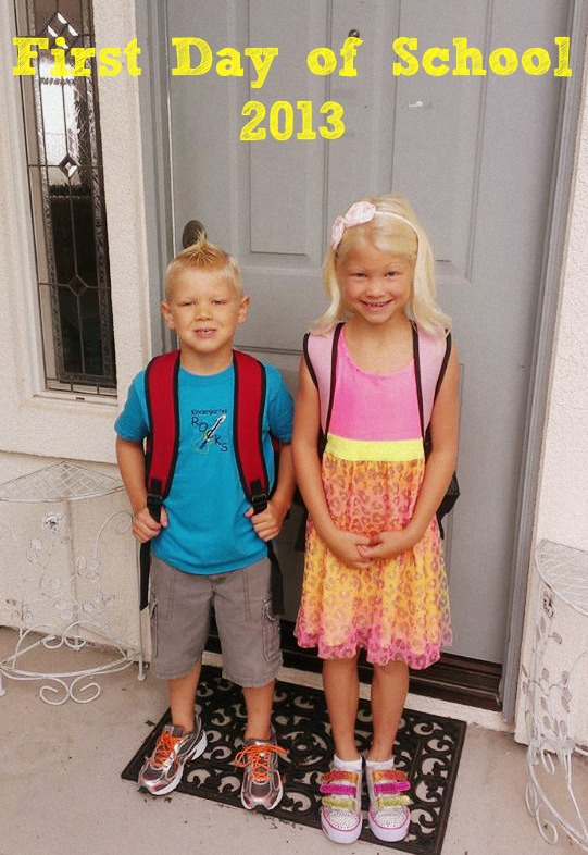 How to Make First Day of School Memory Photos