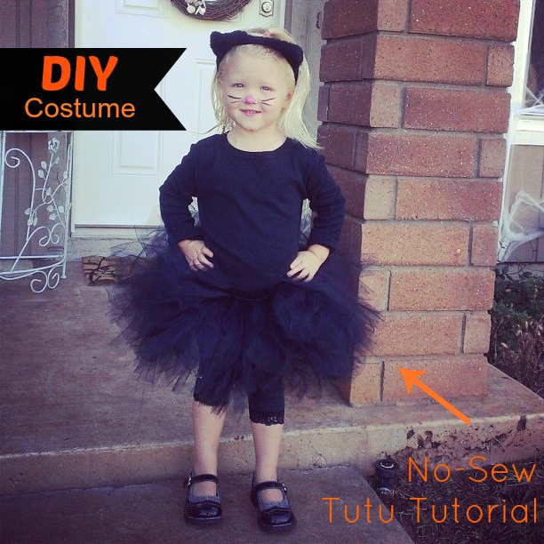 DIY Cat Costume with Tutu Tutorial