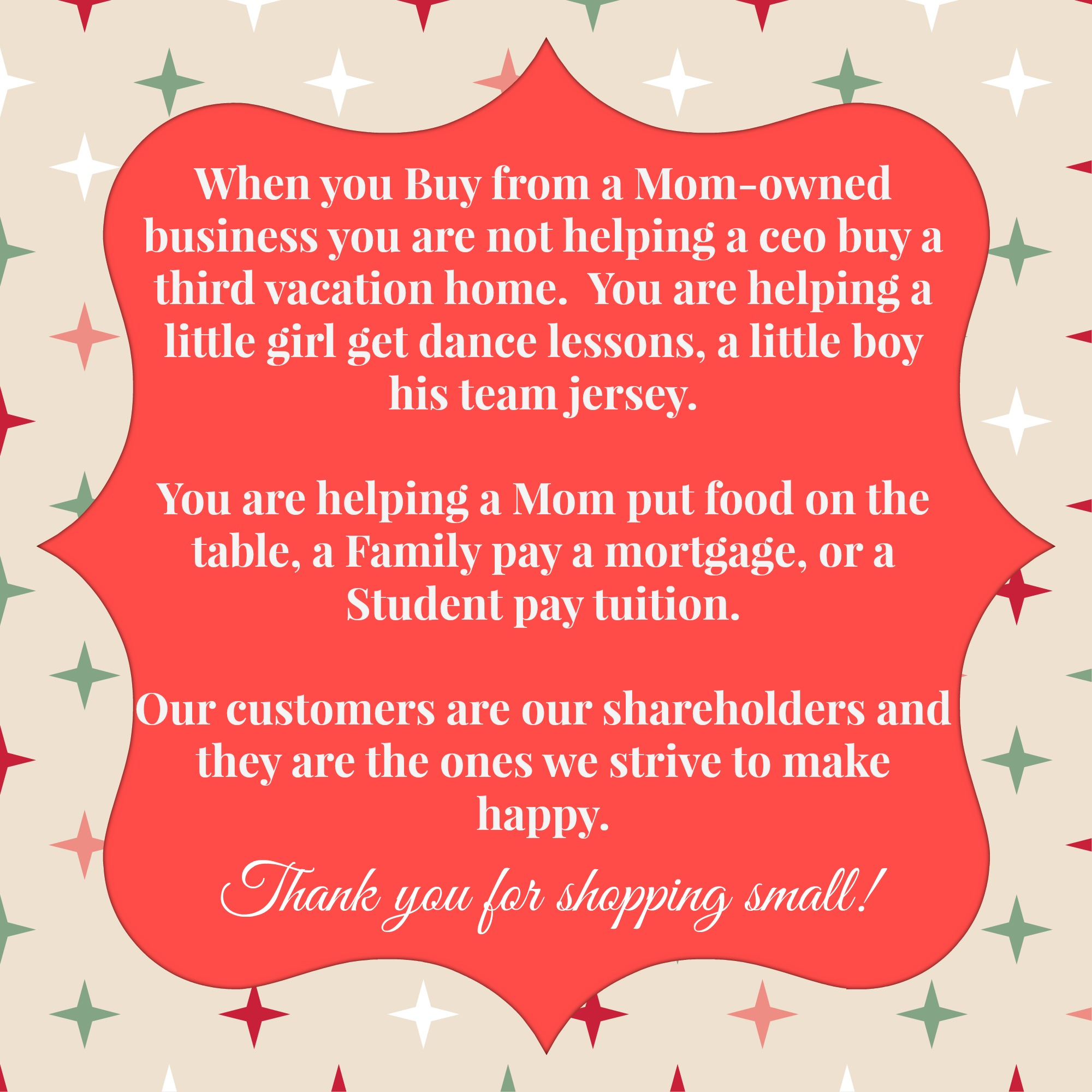 Shop Small, Shop Mom's:  A Mom-Owned Business Gift Guide