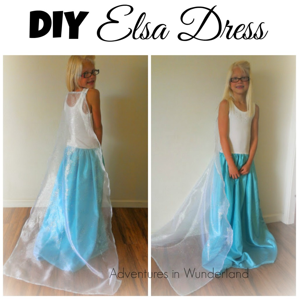 So I did the next best thing and created an Elsa costume that was perfect for my 8 yr old.  sc 1 st  Wunder-Mom & DIY Elsa Dress for less than $20