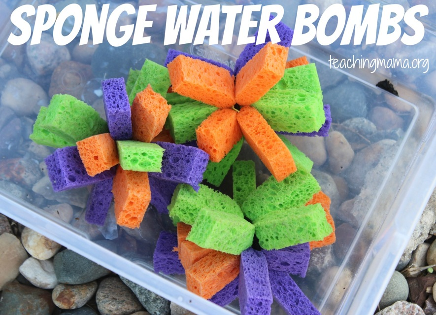 Sponge-Water-Bombs