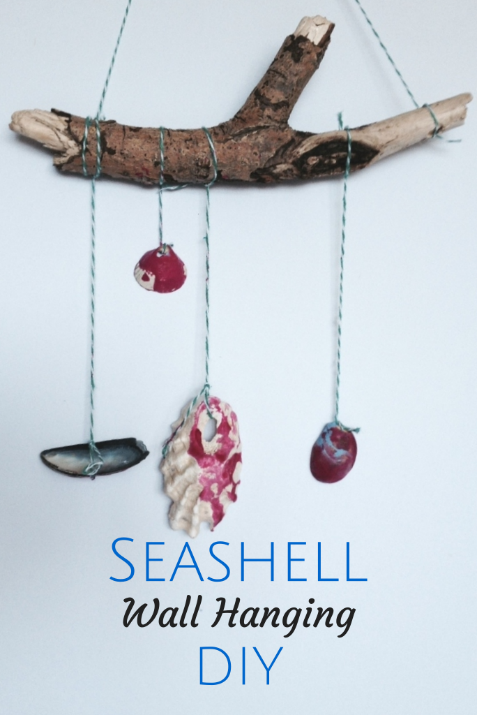 seashellwallhanging
