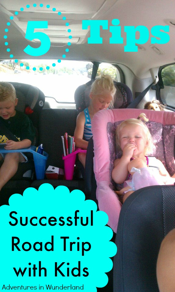 5 Tips for a Successful Road Trip with Kids