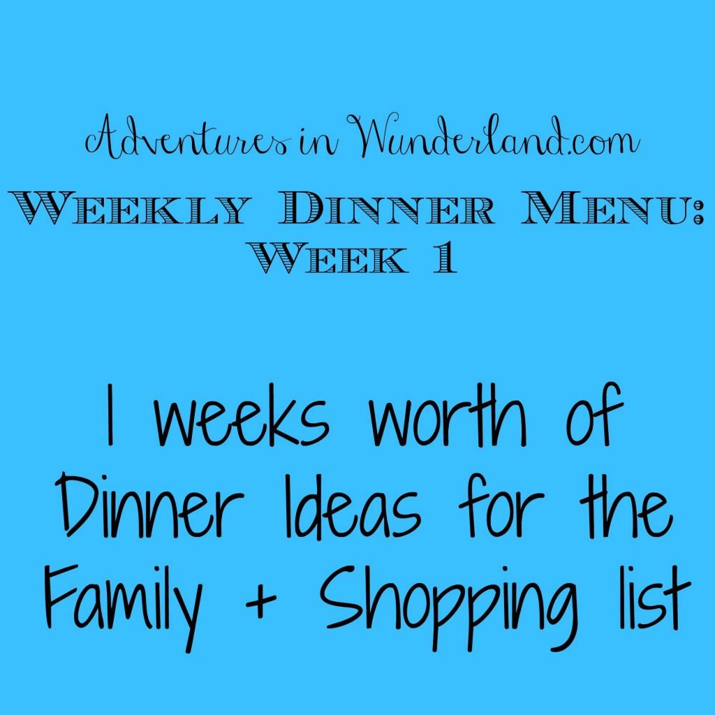 Weeklydinnermenuweek1
