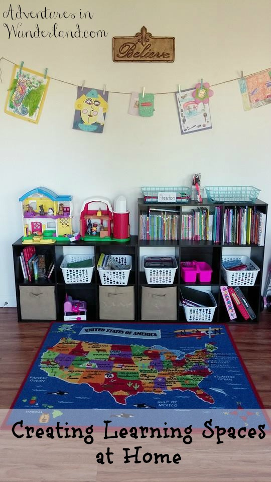 Creating Learning Spaces at Home