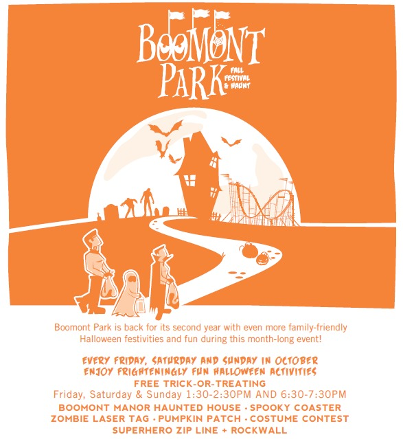 BOOMont Park Fall Festival and Haunt Giveaway