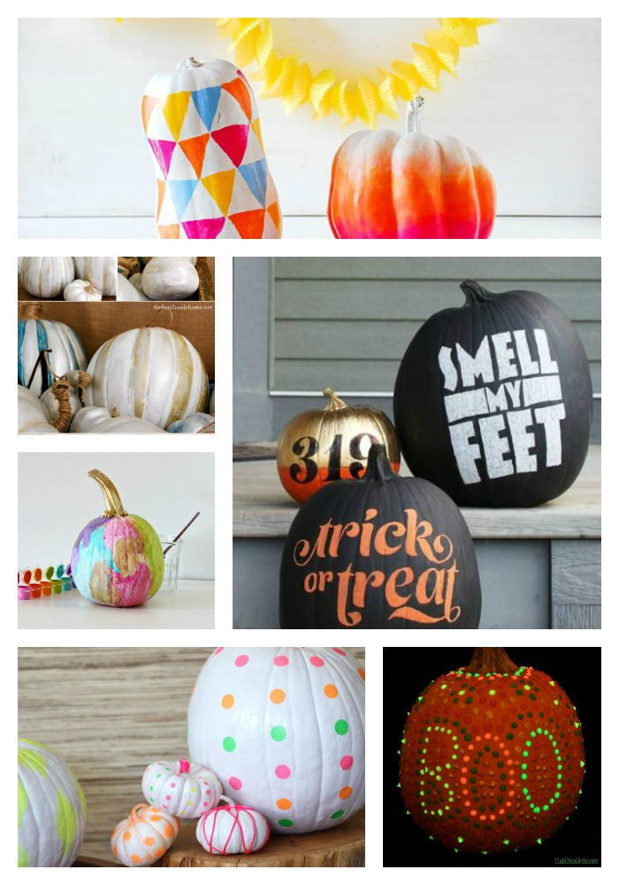 28 No-Carve Pumpkin Decorating Ideas