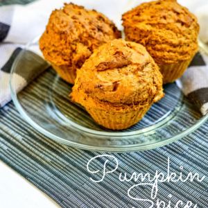 two ingredient pumpkin spice muffin recipe