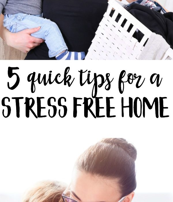 5 Tips for a Stress-Free Home