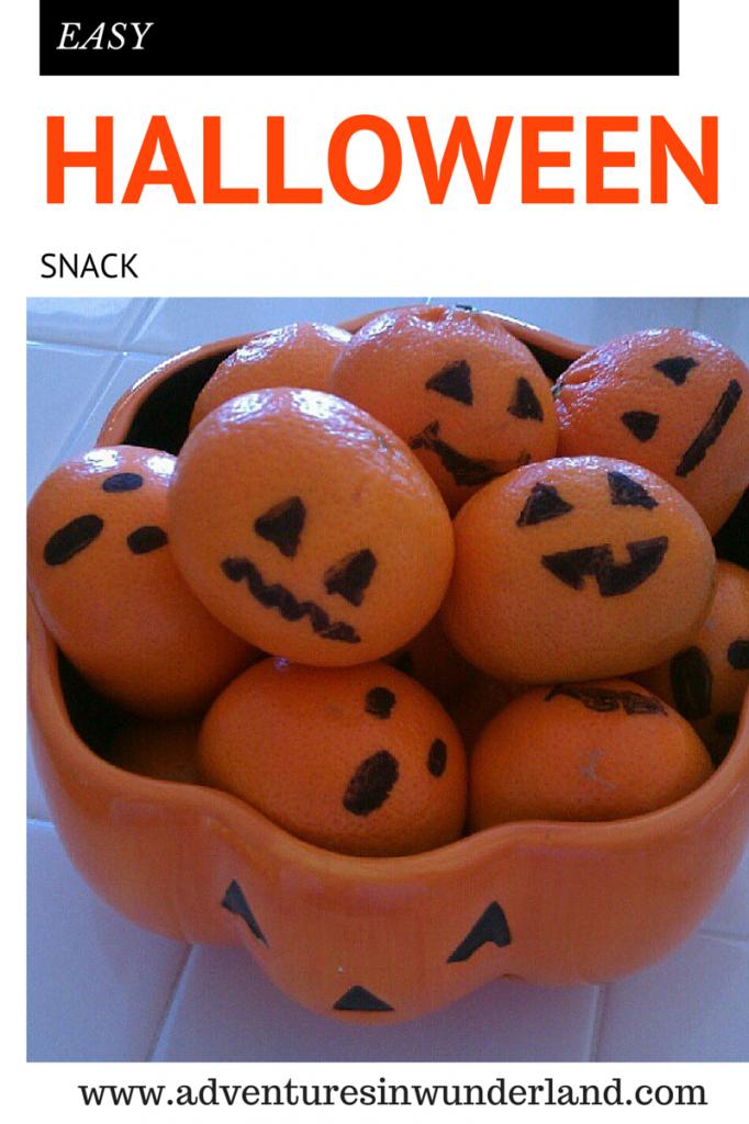 Easy Halloween Snack
