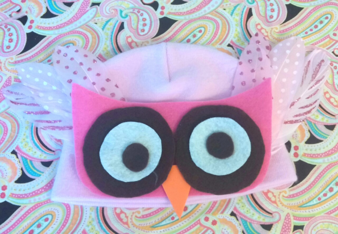Owl costume pattern