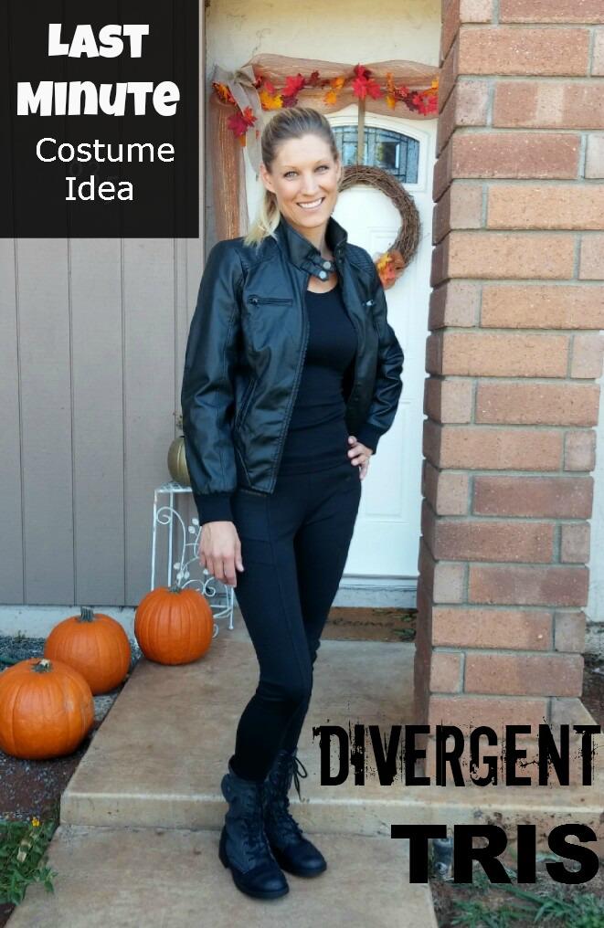 Last Minute Costume Idea: Divergent Tris