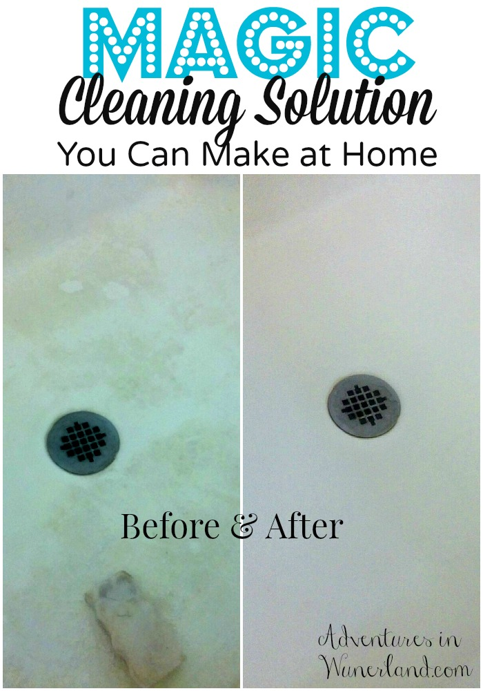 Magic Cleaning Solution You Can Make at Home