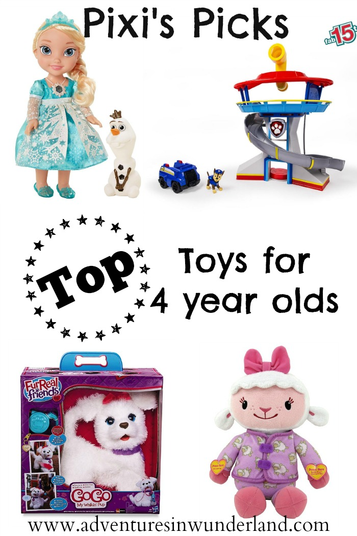 Top Toys for 4 year olds