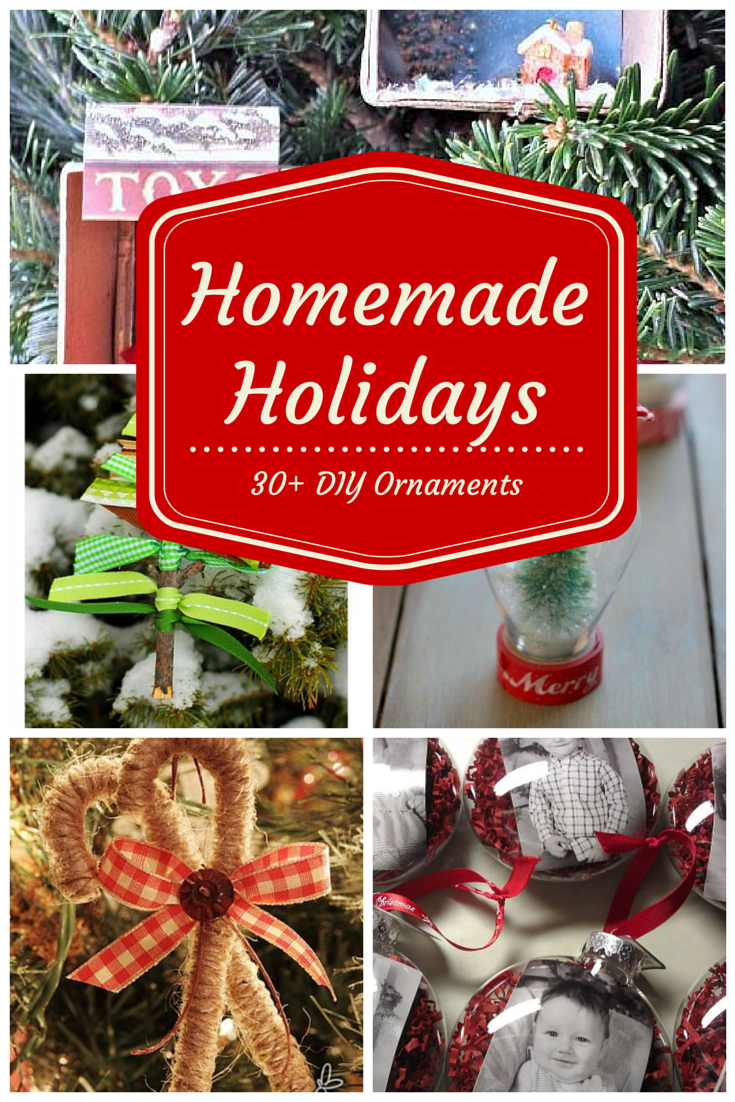 Homemade Holidays:  DIY Ornaments