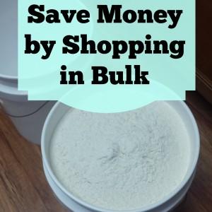 Save Money Shopping in Bulk