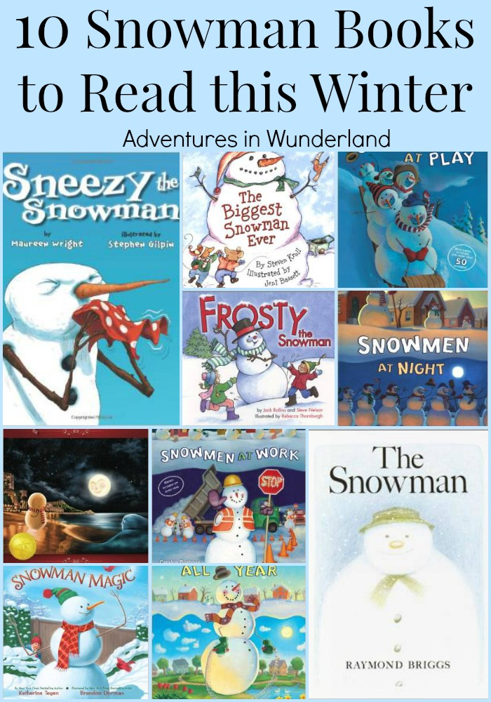 10 Snowman Books to Read this Winter