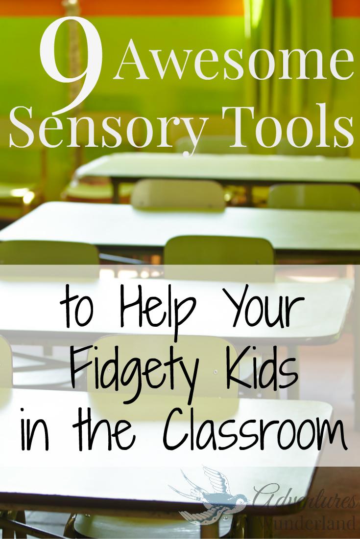 Sensory Tools for Classroom