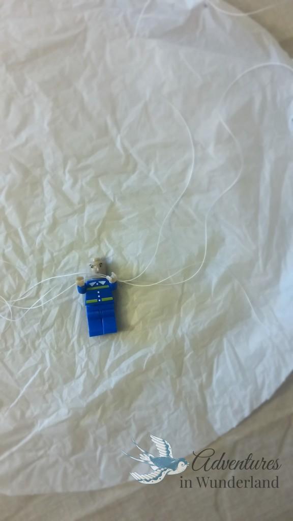 lego man parachute