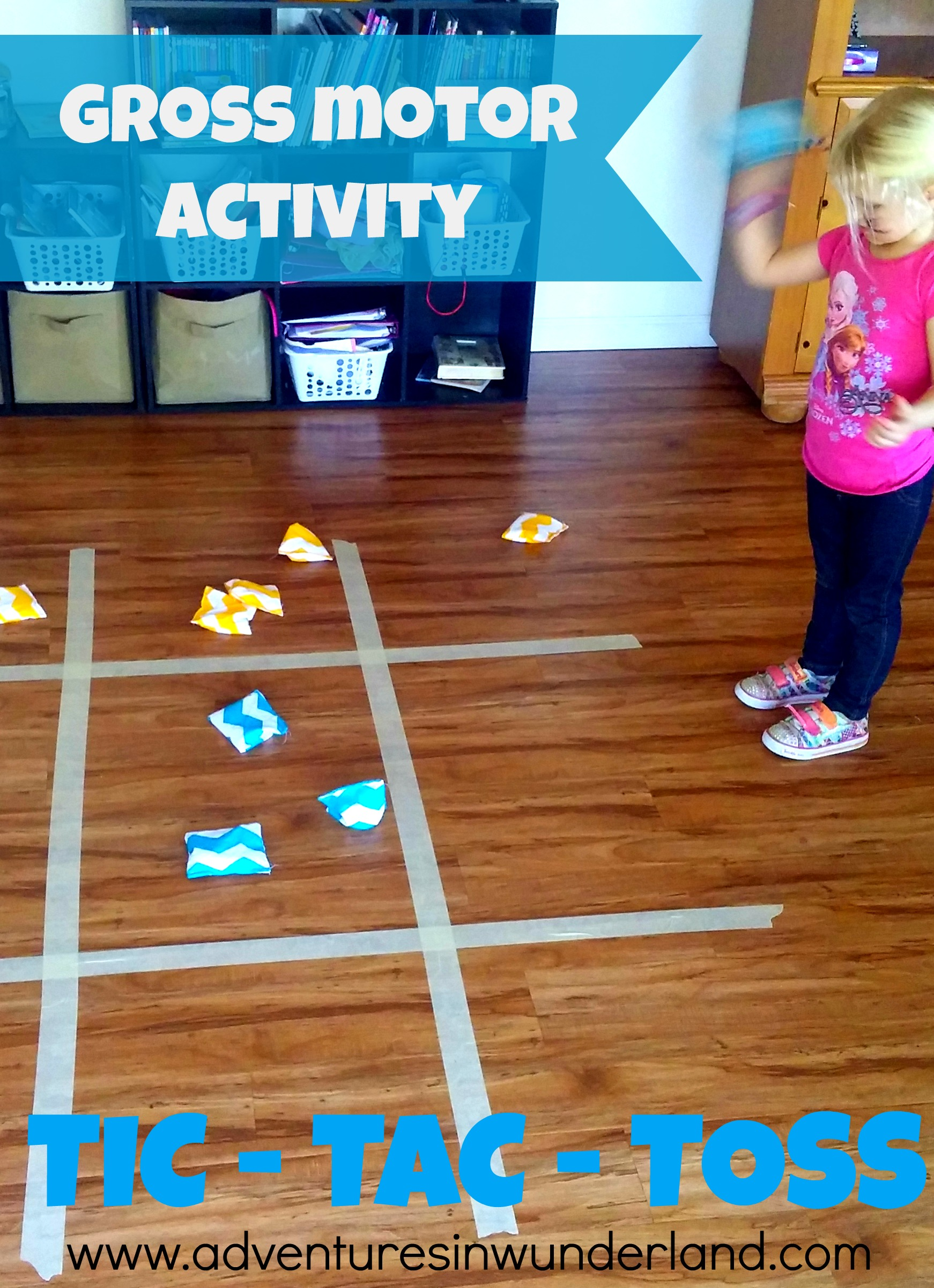 Fun Gross Motor Activity: TIC – TAC – TOSS
