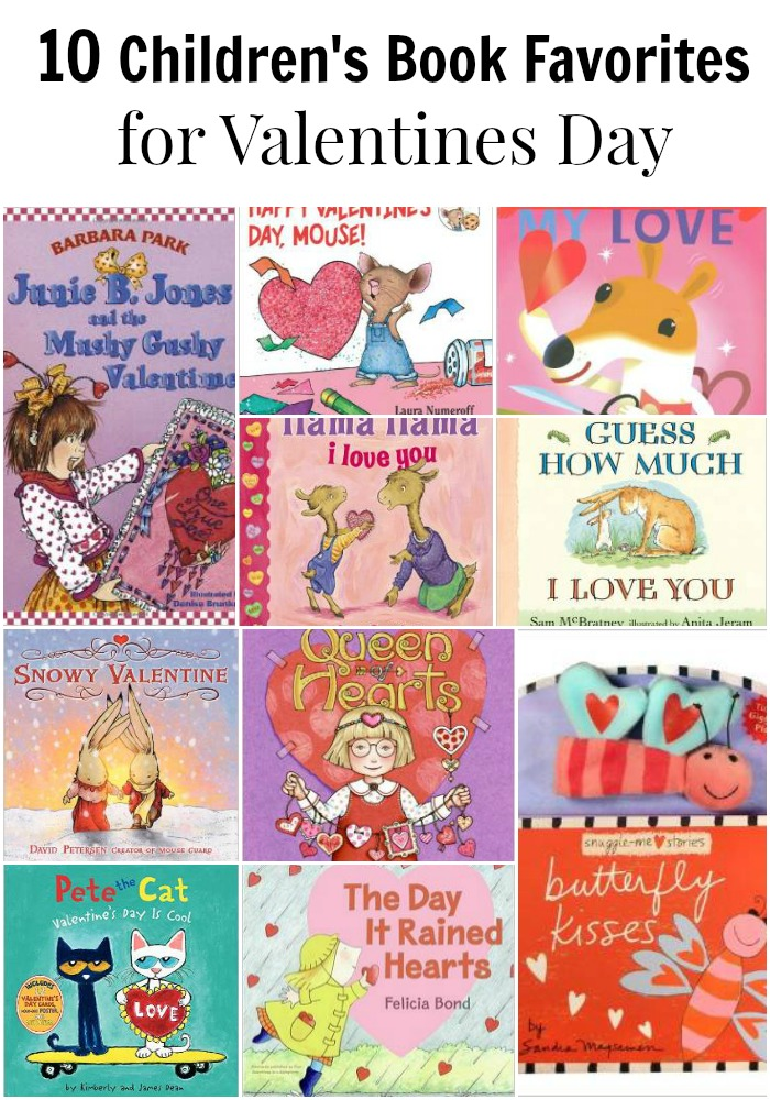 children's books for Valentines Day