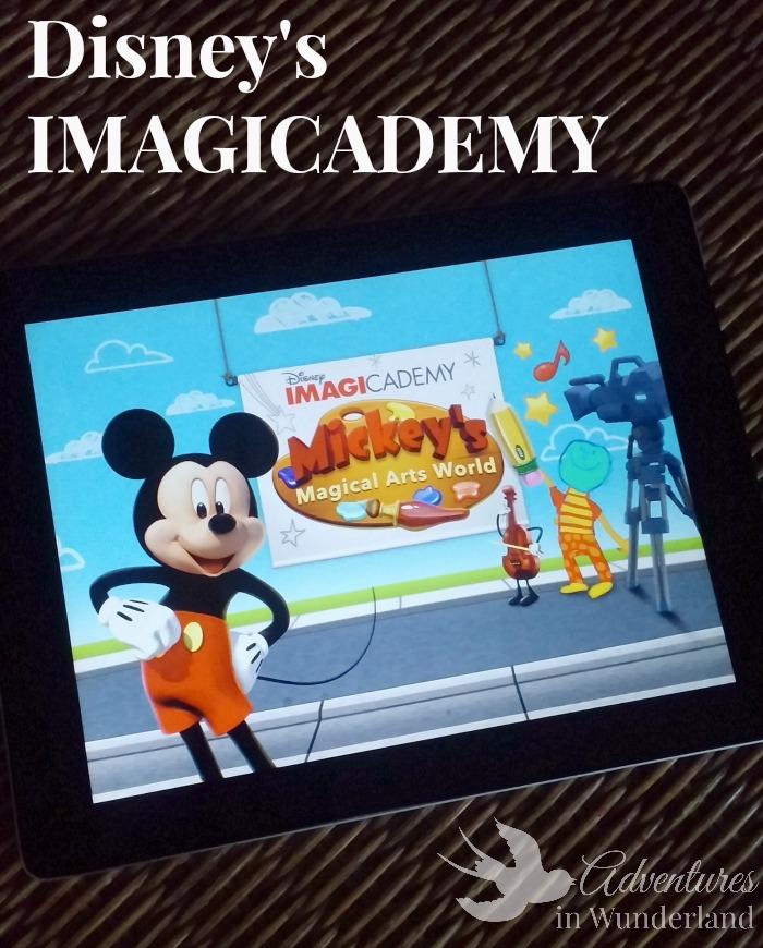 Disney Imagicademy:  New Creative App for Kids
