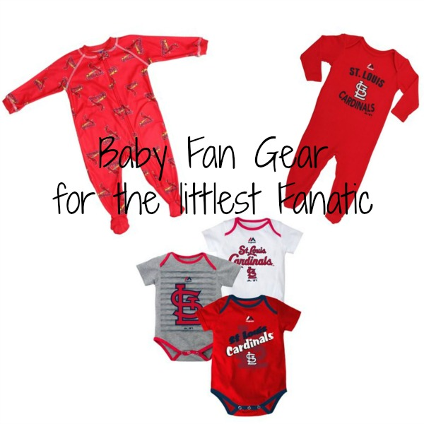 baby baseball fan gear