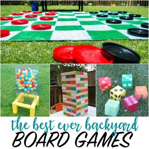 Best-Ever Backyard Board Games