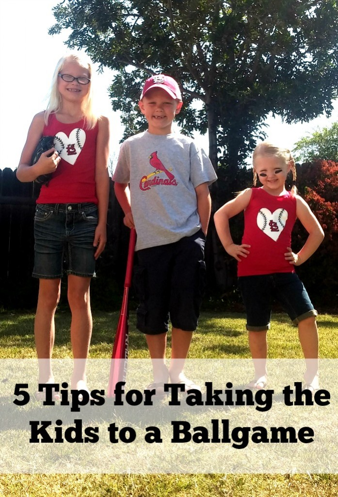 5 Tips for taking the kids to a ballgame