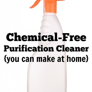 chemical free cleaning spray