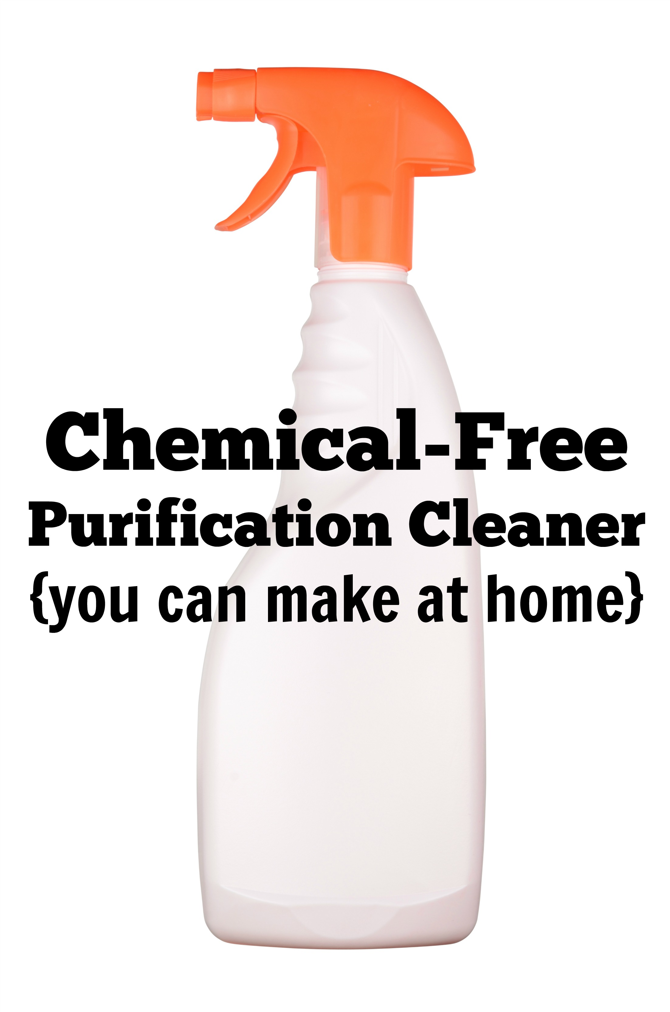 Chemical-Free Cleaning Spray Recipe