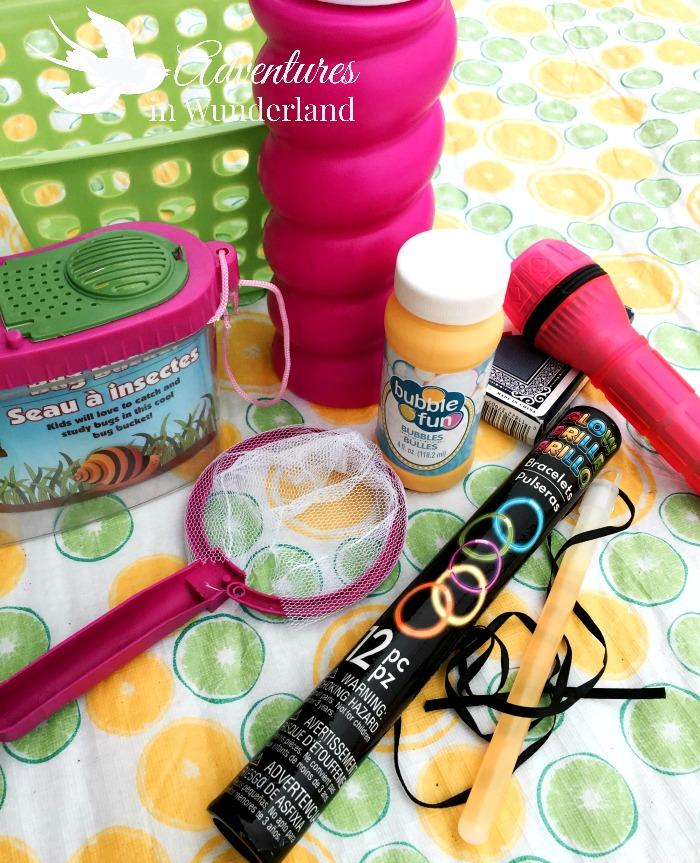 kids camping kit