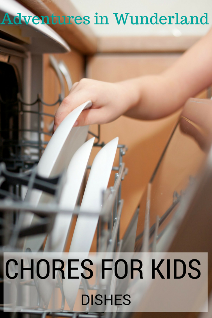 KID'S CHORES:  Dishes + a special offer for Finish® products