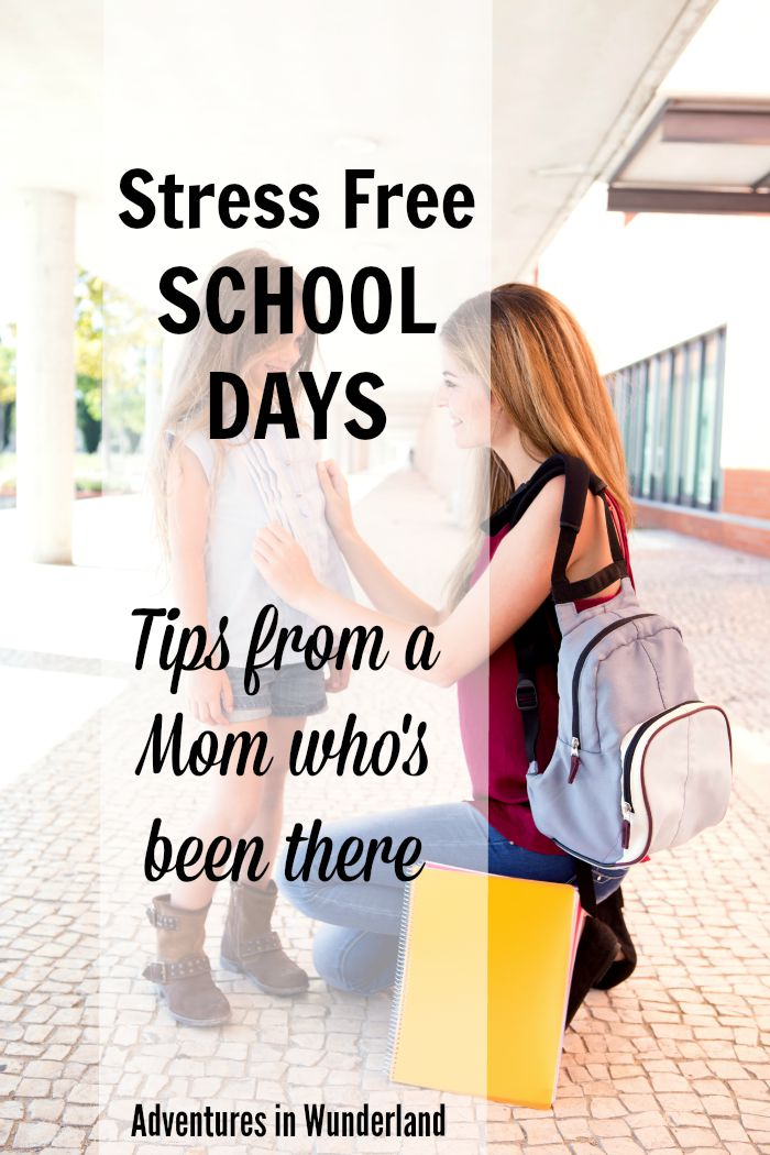 Stress Free School Days