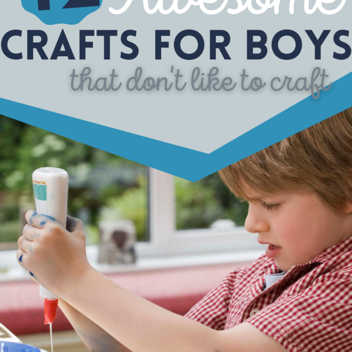 Crafts for Boys (that don't like to craft)