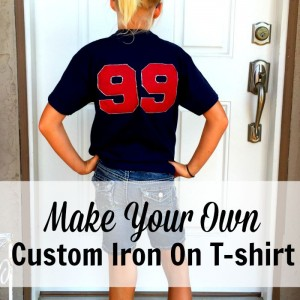 custom iron on